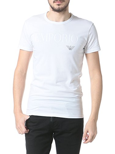 エンポリオアルマーニ EMPORIO ARMANI フロントロゴ クルーネック 半袖 アンダーTシャツ EA111035CC716 並行輸入品