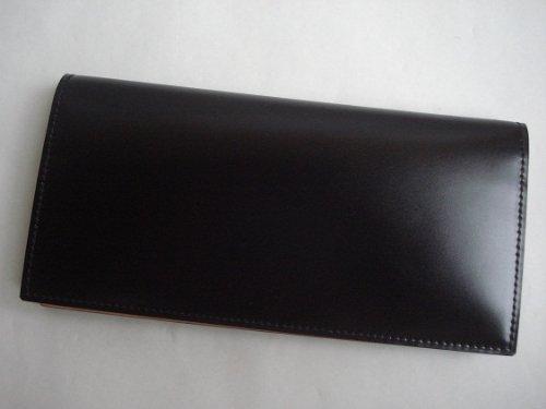 GANZO(ガンゾ)cordvan コードバン 長財布 ブラック