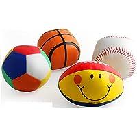 ychoice Lovely赤ちゃんおもちゃギフトベビーソフト愛らしい手キャッチボールおもちゃギフト幼児魅力的な小さな布ボール