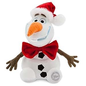 【クリスマス限定バージョン】 2014 Disney ディズニー アナと雪の女王 オラフ ぬいぐるみ 10インチ 25cm 子供 キッズ Frozen