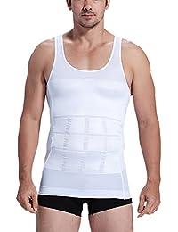Rosieメンズスリミングベスト重量損失ボディシェイパーfirms腹部Backサポート圧縮タンクトップ