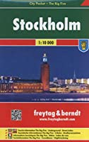 Stockholm City Pocket + the Big Five Waterproof 1:10 000