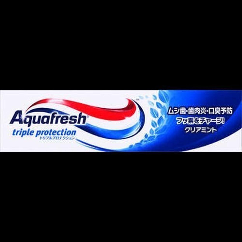 カウボーイ盲信前置詞【まとめ買い】アクアフレッシュ クリアミント 35g ×2セット