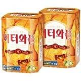 [5584][クラウン] バターワッフル 35g ■韓国食品■韓国食材■韓国お菓子 ■美味しいお菓子■お菓子■韓国スナック■