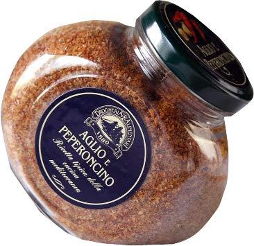 スパイス ガーリック&ペペロンチーノ (ニンニクと赤唐辛子)パウダー 140g イタリア産 (Italian Spice Powder Garlic & Red pepper)