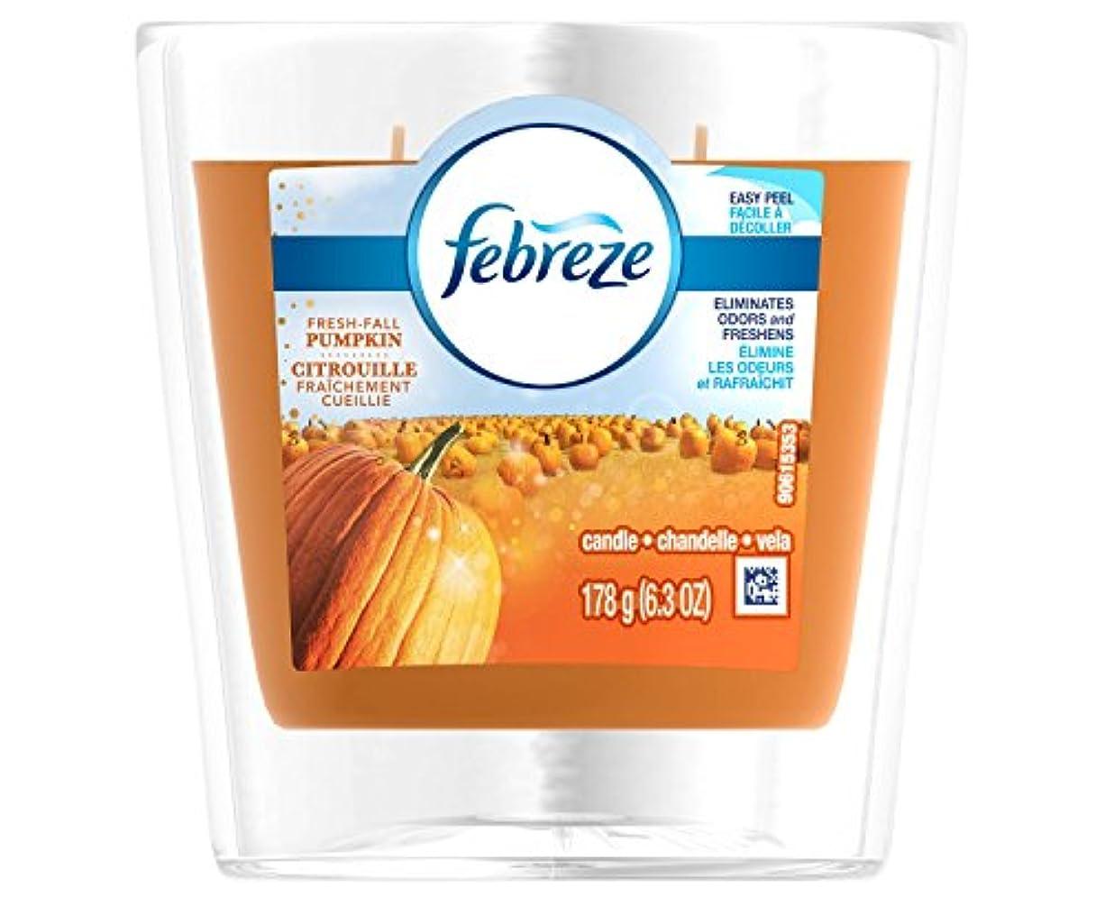ペンダント寝室を掃除する骨折FebrezeフレッシュFall Pumpkin Candle – 6.3oz