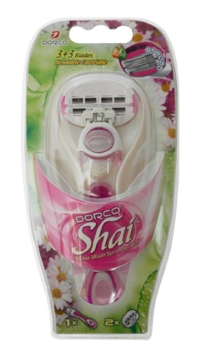発行するブランド鉄DORCO ドルコ Shai3+3 女性用替刃式 カミソリ3+3枚刃 本体