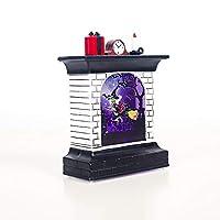 ハロウィン飾り LEDライト LEDランプ ランタン 卓上スタンドライト 電池式 ベッドサイドランプ 装飾品 ウィッチ