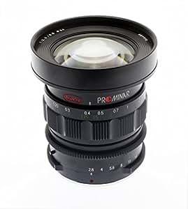 Kowa 単焦点レンズ ブラック マイクロフォーサーズ専用 PROMINAR 8.5mm F2.8 BK