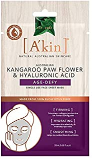 A'kin Kangaroo Paw Flower and Hyaluronic Acid Age-Defy Face M