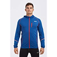 time to run Men's Thermo Running/Gym/Exercise/Workout Hoodie Jacket