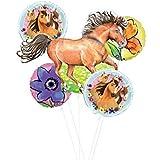 Mayflower Products スピリットライディングフリー パーティー用品とチャーミングな馬のバルーンブーケデコレーション