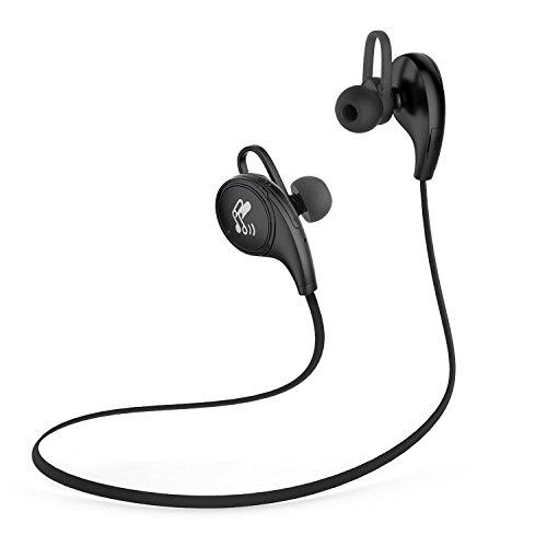 SoundPEATS(サウンドピーツ) QY8 Bluetooth イヤホン 高音質 apt-X対応 マイク付き ブルートゥース イヤホン (black)