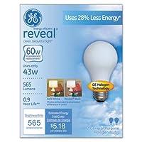 GE照明6300743ワットソフトホワイトHalonライト電球