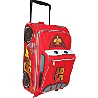 Disney Pixar Cars 17 inches Lightning McQueen Shape Luggage