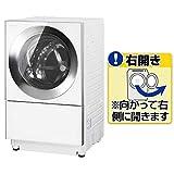 パナソニック 右開き ななめドラム 全自動洗濯機 (容量10kg/乾燥3kg) (シルバーステンレス) (NAVG1200RS) シルバーステンレス NA-VG1200R-S