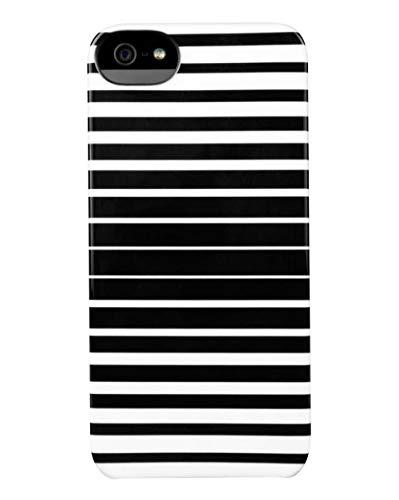 Incase (インケース) Snap case iPhone SE / 5 / 5s スマホ ケース ハード型 カバー アイホン 画面用クロス付 (ブラック/ホワイト) [並行輸入品]