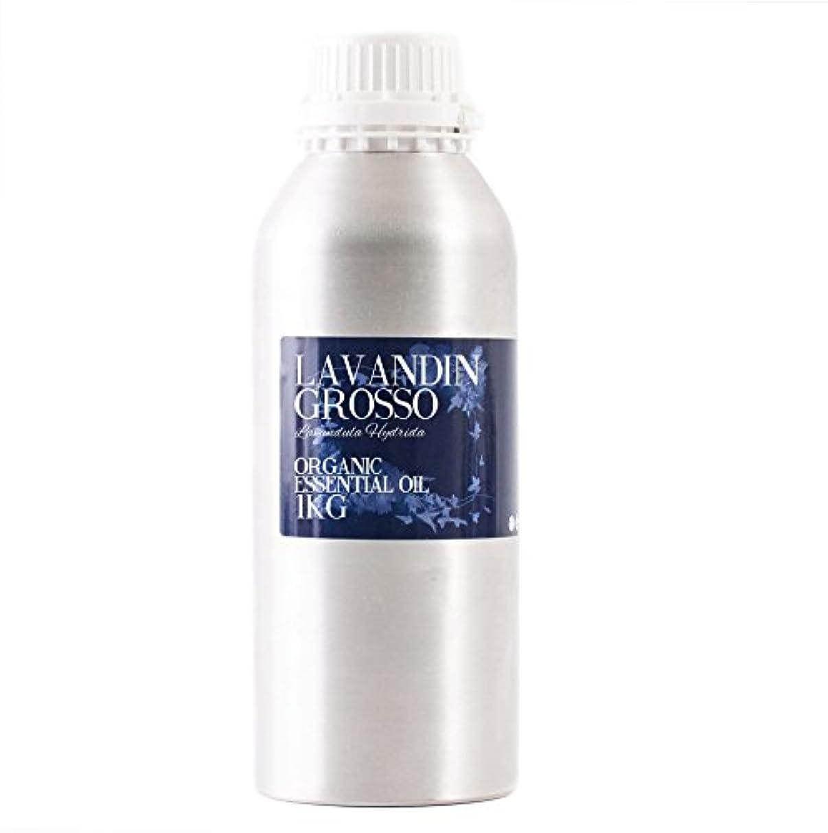 鳥名誉逆説Mystic Moments | Lavandin Grosso Organic Essential Oil - 1Kg - 100% Pure