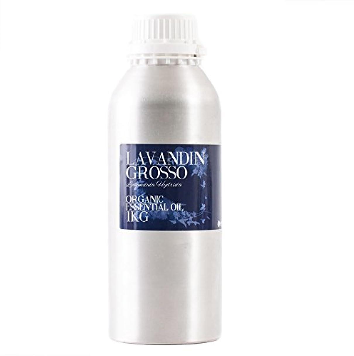 ストライプ天気直径Mystic Moments | Lavandin Grosso Organic Essential Oil - 1Kg - 100% Pure