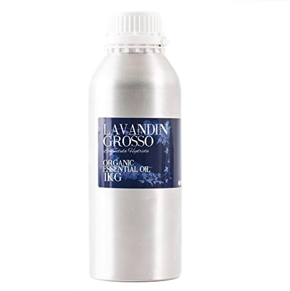トラフ時間厳守大腿Mystic Moments   Lavandin Grosso Organic Essential Oil - 1Kg - 100% Pure