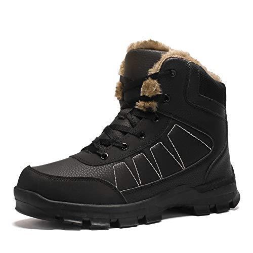(ダント)Dannto スノーブーツ メンズ 冬 防寒 ウィンターブーツ アウトドアシューズ 裏起毛 綿靴 滑り止め 防水