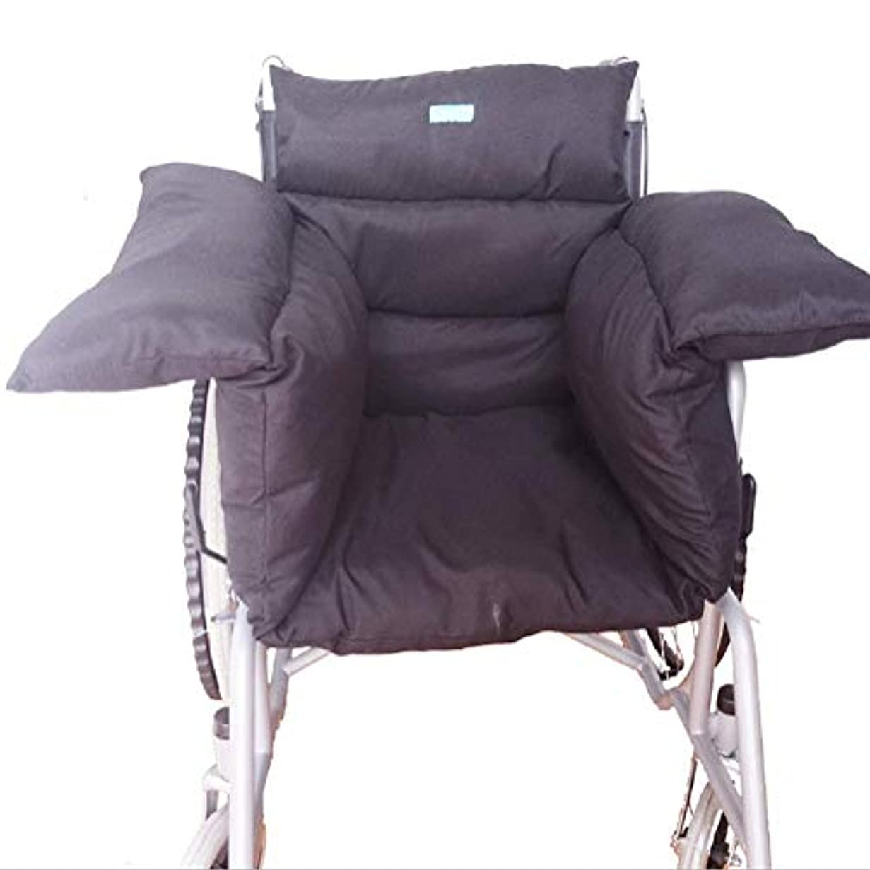 八百屋ギター怒る車椅子用シートクッション、麻痺高齢者の長時間座っに最適、寛大なサイズ、保温性、洗える合計車椅子枕