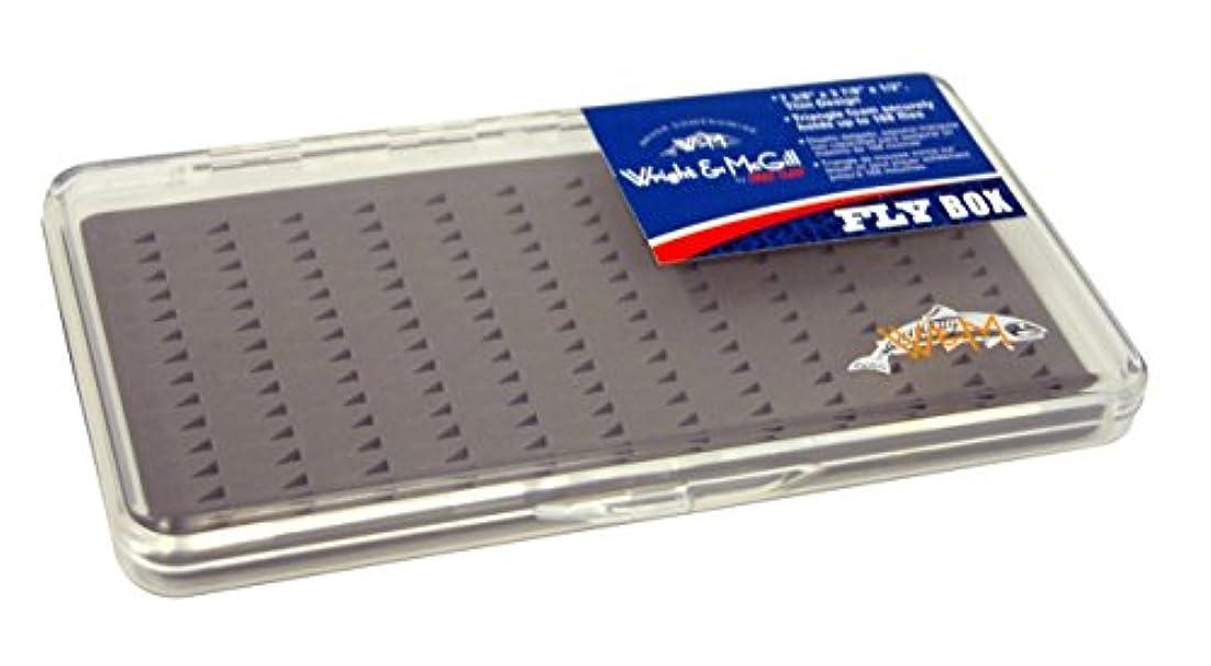 付ける有力者入浴Wright McGill Triangle Foam Fly Box - Holds 168 Flies