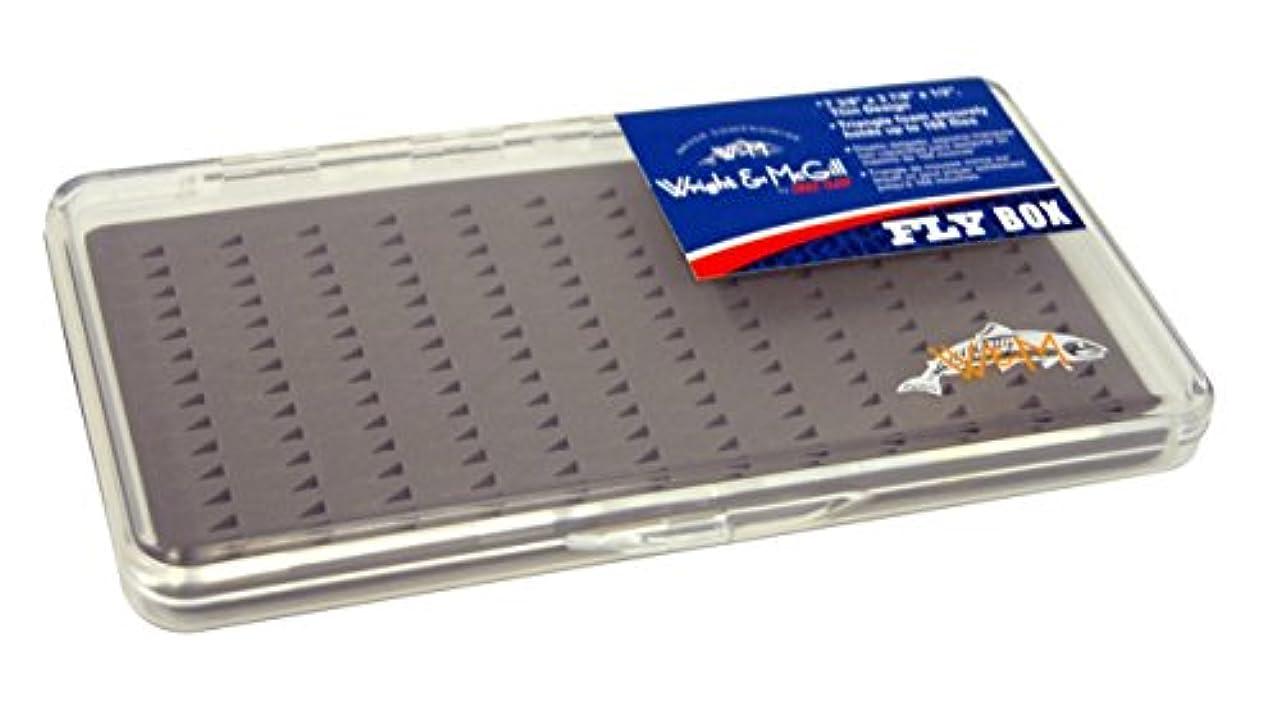 洞察力のあるはがき不名誉なWright McGill Triangle Foam Fly Box - Holds 168 Flies