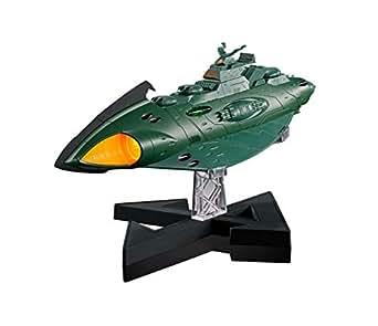 超合金魂 GX-89 宇宙戦艦ヤマト2202 ガミラス 航宙装甲艦 全長約240mm ダイキャスト&ABS製 塗装済み可動フィギュア