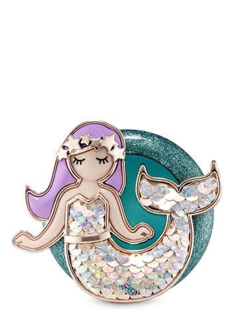 くしゃみ棚同盟【Bath&Body Works/バス&ボディワークス】 クリップ式芳香剤 セントポータブル ホルダー (本体ケースのみ) マーメイド Scentportable Holder Marmaid [並行輸入品]