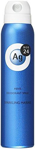エージーデオ24 メンズデオドラントスプレー スパークリングマリンの香り 100g (医薬部外品)