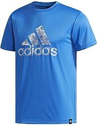 adidas (アディダス) M ESSENTIALS Badge of Sport グラフィック Tシャツ CX3280 ETZ86 1806 メンズ