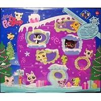 Littlest Pet Shop Figures Exclusive 2008 Advent Calendar with 3 Pets (Including Purple Penguin!) by Littlest Pet Shop [並行輸入品]
