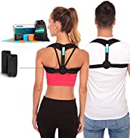 Posture Corrector - Adjustable Clavicle Brace to Comfortably Improve Bad Posture for Men and Women - Posture Corrector...