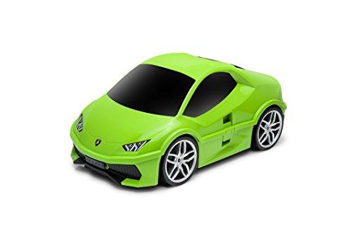 ランボルギーニ ウラカン(Lamborghini Huracan) 子供用キャリーケース おもちゃ箱にも兼用して使用可能 12L(グリーン)