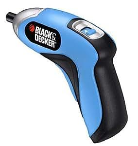 ブラックアンドデッカー コンパクト電動ドライバー 3.6V ホームドライバー ブルー CSD300TB