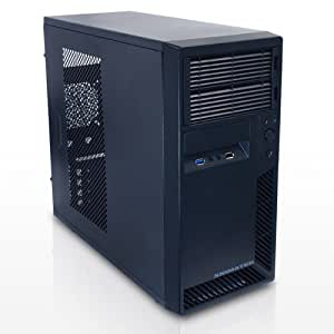 サイズ Micro-ATXコンパクトタワーケース AEOS USB3.0 ブラック