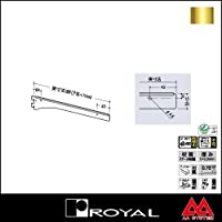 e-kanamono ロイヤル 棚受け 水平ブラケット A-202 100 APゴールド