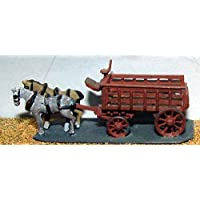 LangleyモデルRailway Delivery lorry 5 ton 2 horse Nスケール未塗装キットe24