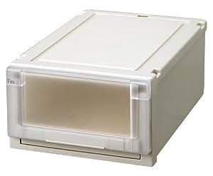 天馬 Fits フィッツユニットケース (幅35×奥行55×高さ20cm) カプチーノ 3520