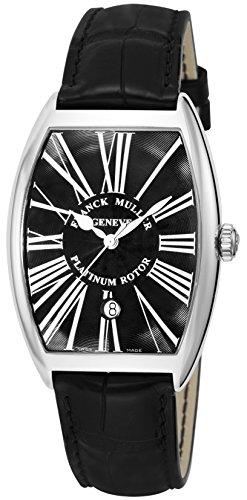[フランクミュラー]FRANCK MULLER 腕時計 トノーカーベックス ブラック文字盤 自動巻 6850BSCDTRA-BLK-BLK メンズ 【並行輸入品】