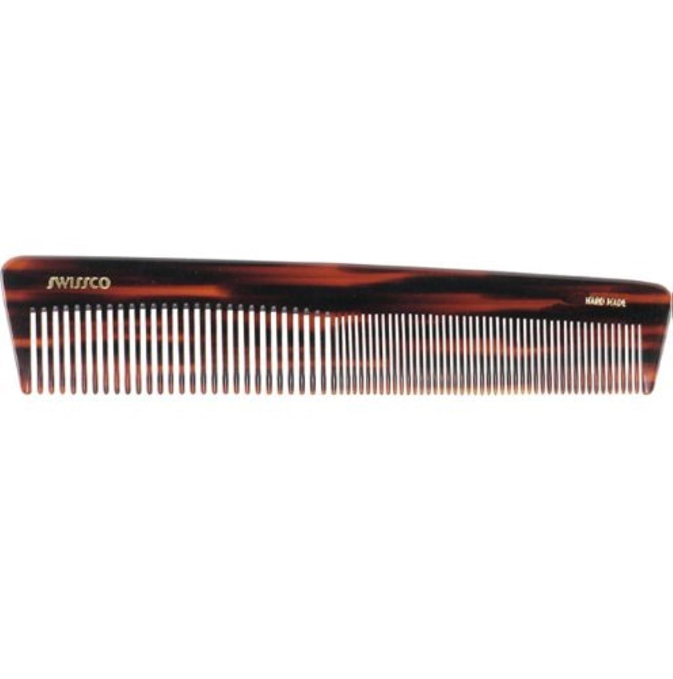 シュート汚染する真面目なSwissco Tortoise Dressing Comb [並行輸入品]