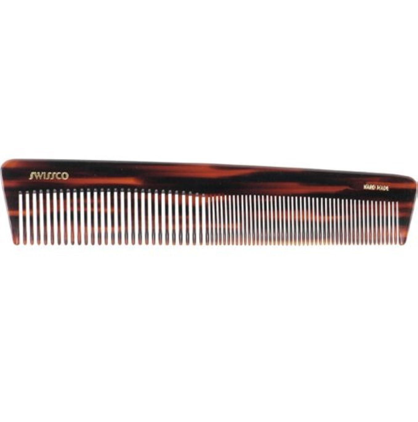 未接続残酷な黒くするSwissco Tortoise Dressing Comb [並行輸入品]