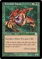 英語版 オンスロート Onslaught ONS 貪欲なるベイロス Ravenous Baloth マジック・ザ・ギャザリング mtg