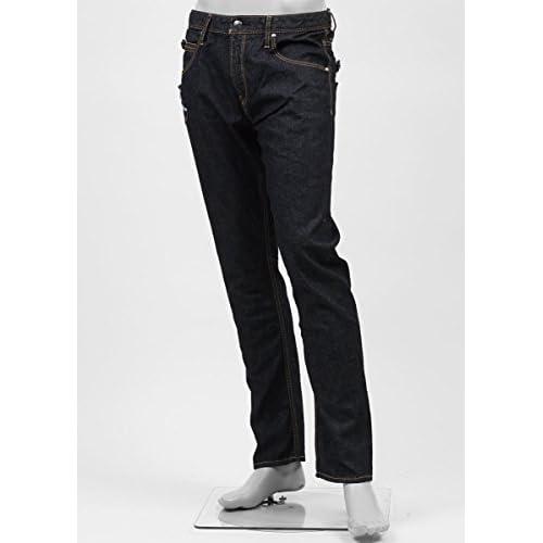 (ジミー タヴァニティ) JIMMY TAVERNITI ストレッチジーンズ 30サイズ ROCKY REGULAR FIT/TAPERED LEG インディゴブルー [並行輸入品]