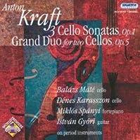 Kraft: 3 Cello Sonatas