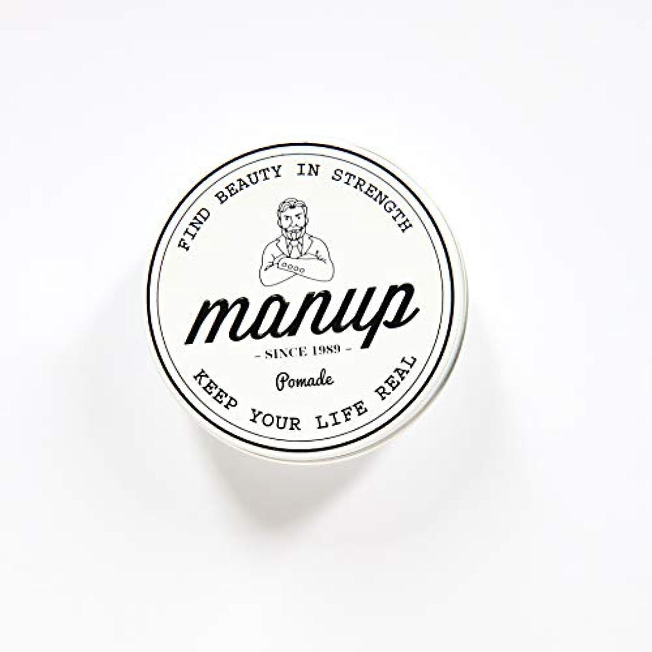 敵対的リスキーな場所MANUP(マンアップ)FIND BEAUTY IN STRENGTH 100g 水性ポマード 整髪料