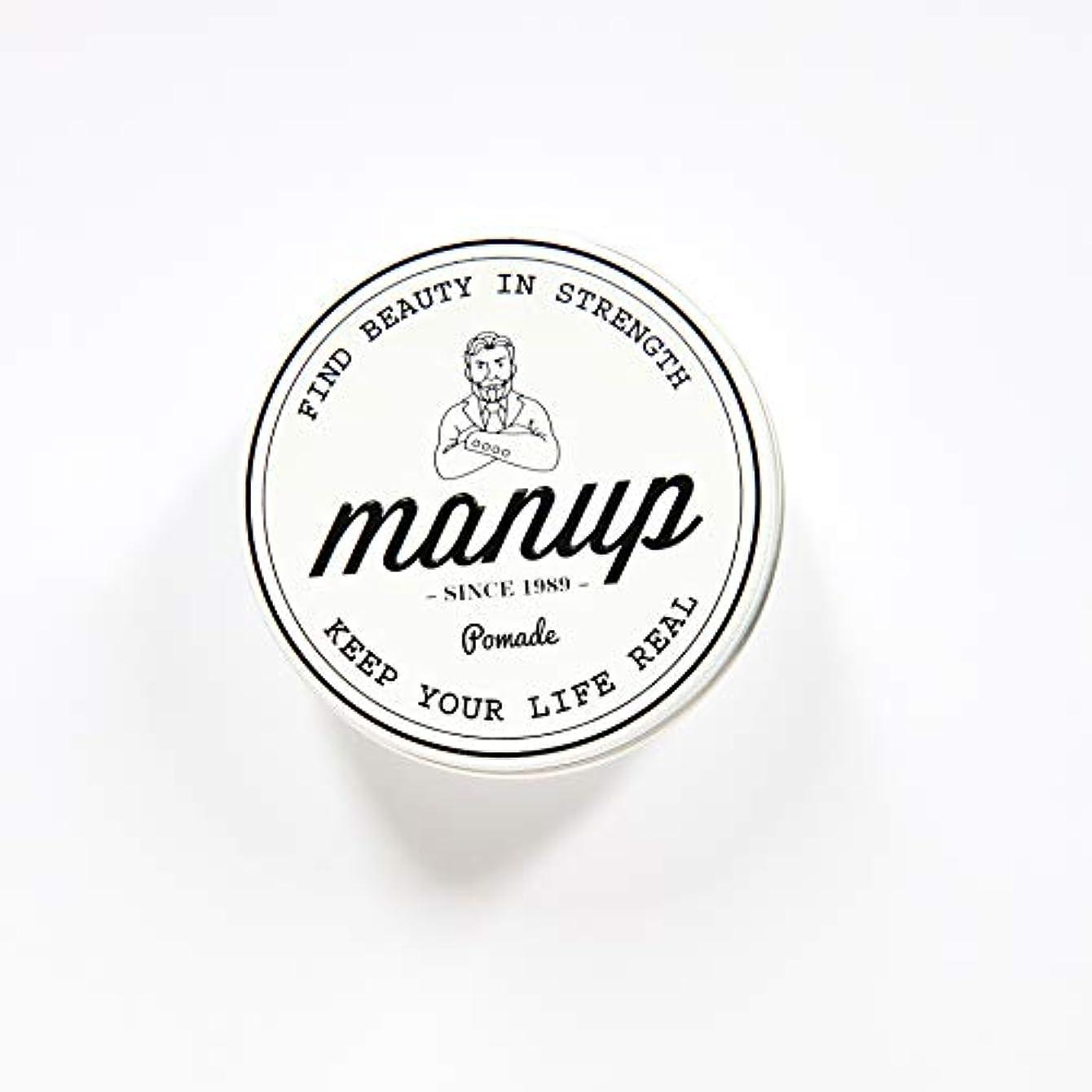美容師構築する評論家MANUP(マンアップ)FIND BEAUTY IN STRENGTH 100g 水性ポマード 整髪料