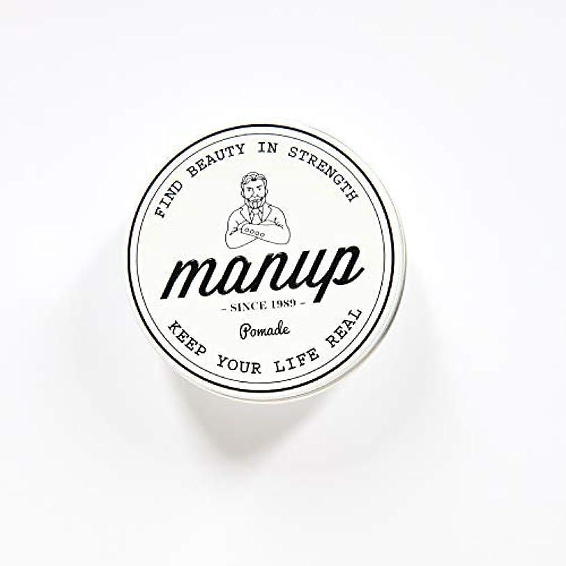 孤独素晴らしき有力者MANUP(マンアップ)FIND BEAUTY IN STRENGTH 100g 水性ポマード 整髪料