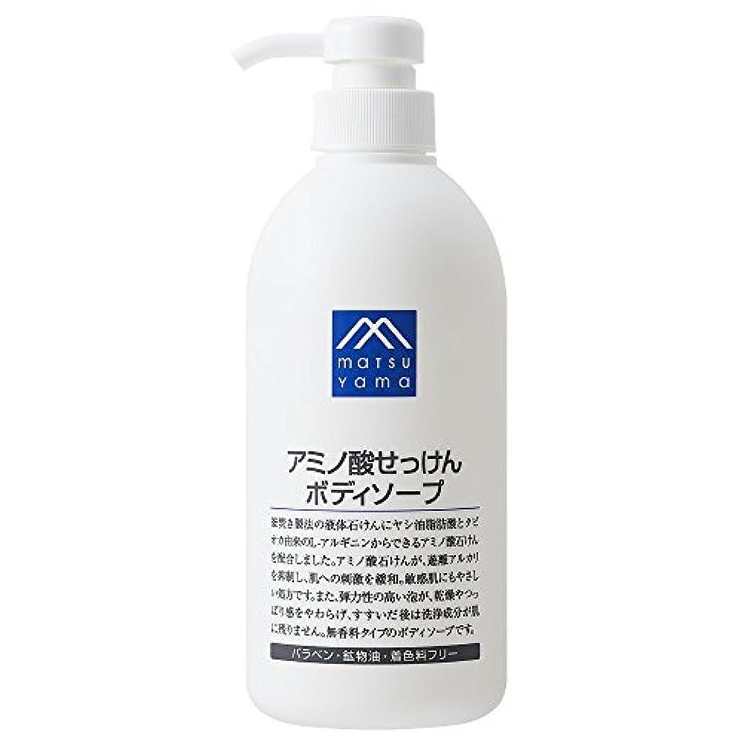 細い浸漬キャッチM-mark アミノ酸せっけんボディソープ